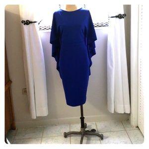 ASOS City Goddess Midi Dress w/ Ruffle Sleeve